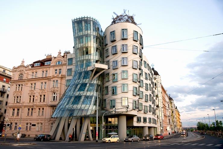 خانه رقصان پراگ   خانهای با سبک متفاوت در جمهوری چک   ژیوار