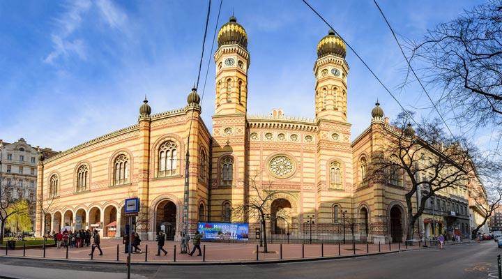 کنیسه-خیابان-دوهنی-مجارستان