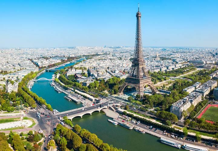 جاذبه های پاریس