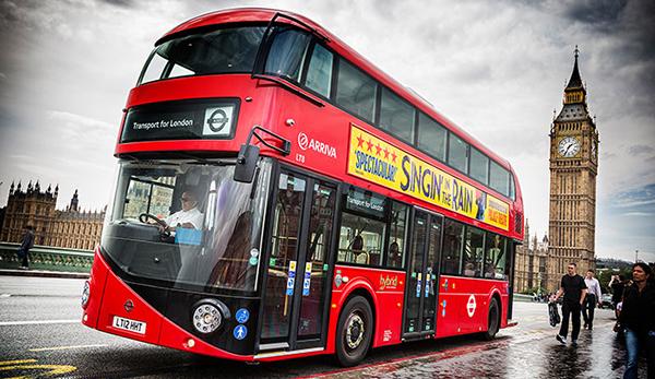 اتوبوس قرمز لندن