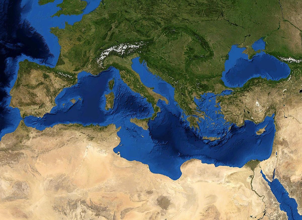 همه چیز درباره دریای مدیترانه اروپایی